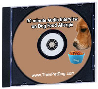 30 minutes audio interview on dog food allergies