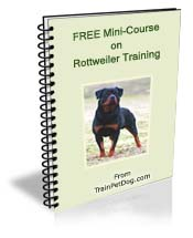 Dogs Rottweiler Free Training Course On Rottweilers